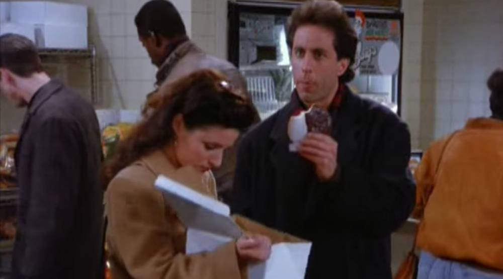 You can eat all your favourite Seinfeld food in Toronto tonight