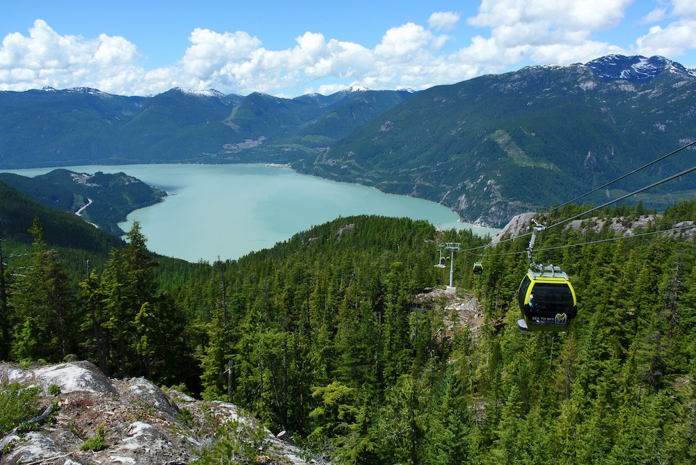 Sea To Sky Gondola in Squamish (Sergei Bachlakov/Shutterstock)