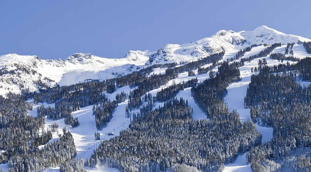 Avalanche triggered at Whistler Blackcomb