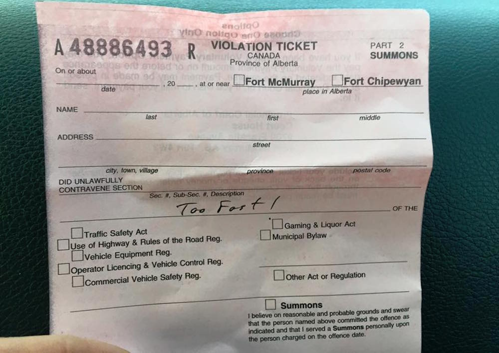 how to get rid of a speeding ticket in ontario