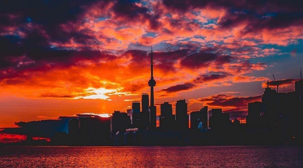 15 photos of this morning's amazing sunrise over Toronto
