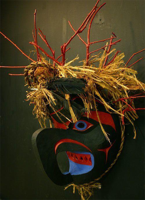"""Thunder Mask"" (Beau Dick/Justart.ca)"