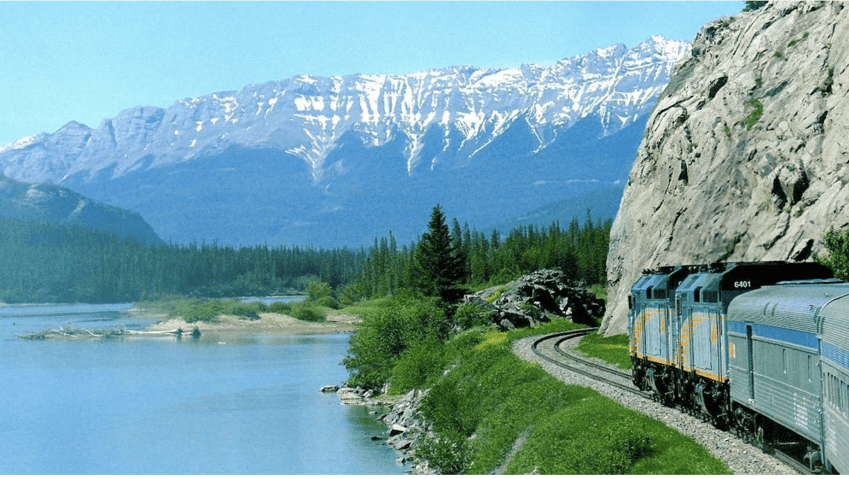 You can still get unlimited Canadian train travel for 2 months for $700 this summer