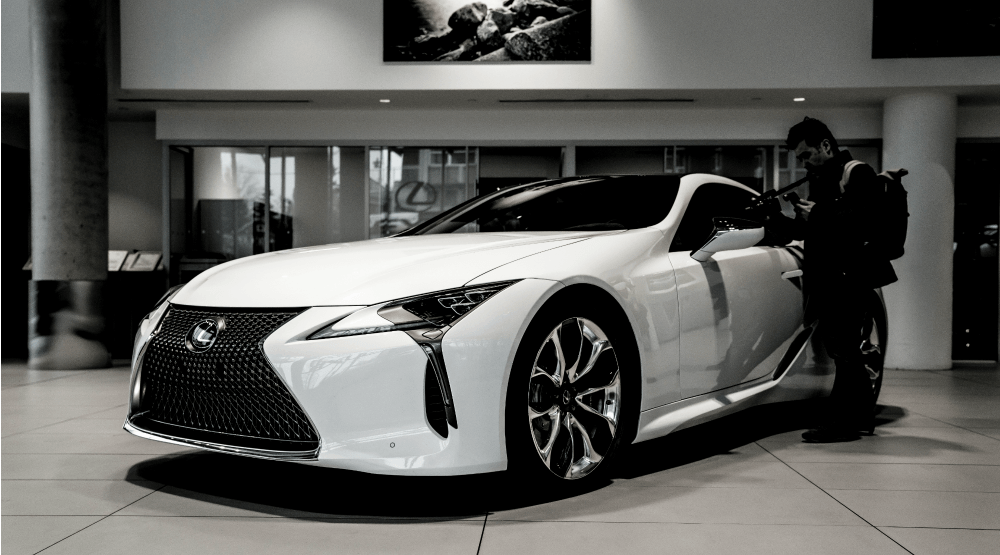 Vancouver's top 8 Instagrammers snap photos of the brand new Lexus LC 500