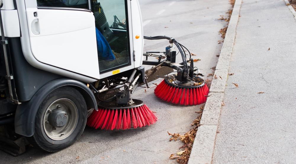 Street cleaning shutterstock