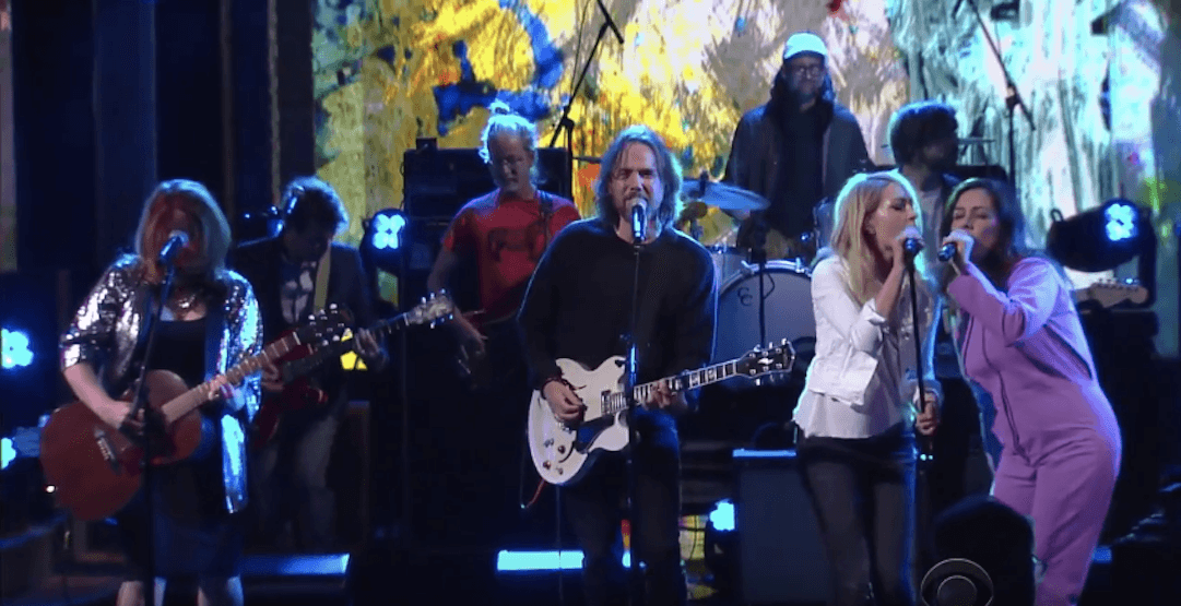 Broken Social Scene perform new music for first time in 7 years on Colbert (VIDEO)