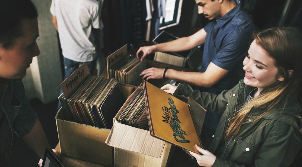 A huge record sale is happening in Montreal next month