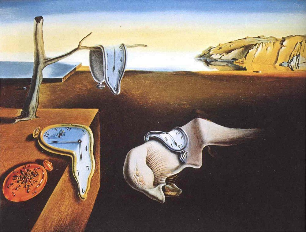 The Persistence of Memory by Salvador Dalí (Salvador Dalí, Gala-Salvador Dalí Foundation/Artists Rights Society)