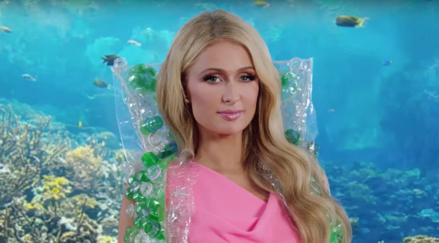 Paris Hilton (NanoDrop/YouTube)