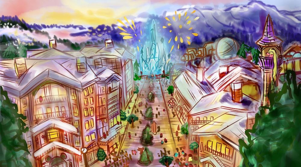 $7-billion Disney ski resort proposed for Squamish