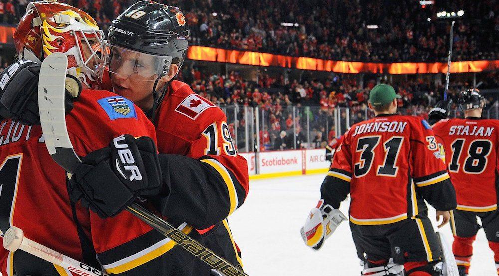 Flames win