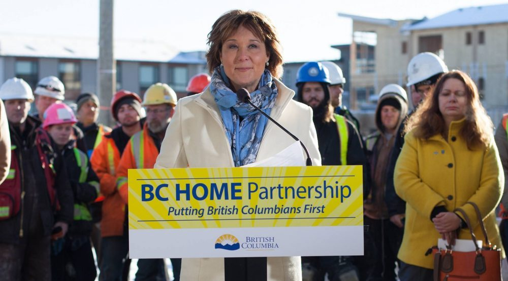 'We can afford this now': Christy Clark confident in first-time homebuyers' program