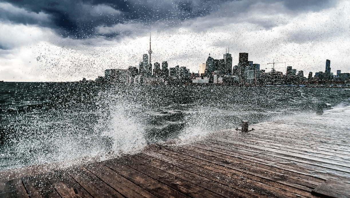 Toronto remains under an Environment Canada special weather statement