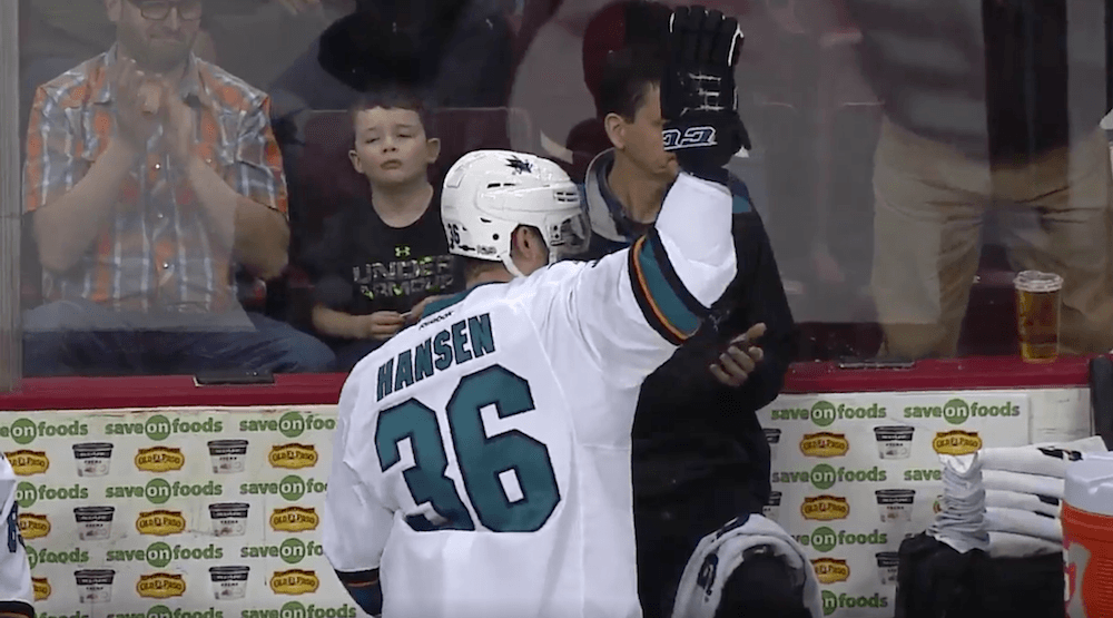 SixPack: Hansen returns with Sharks, beats Canucks