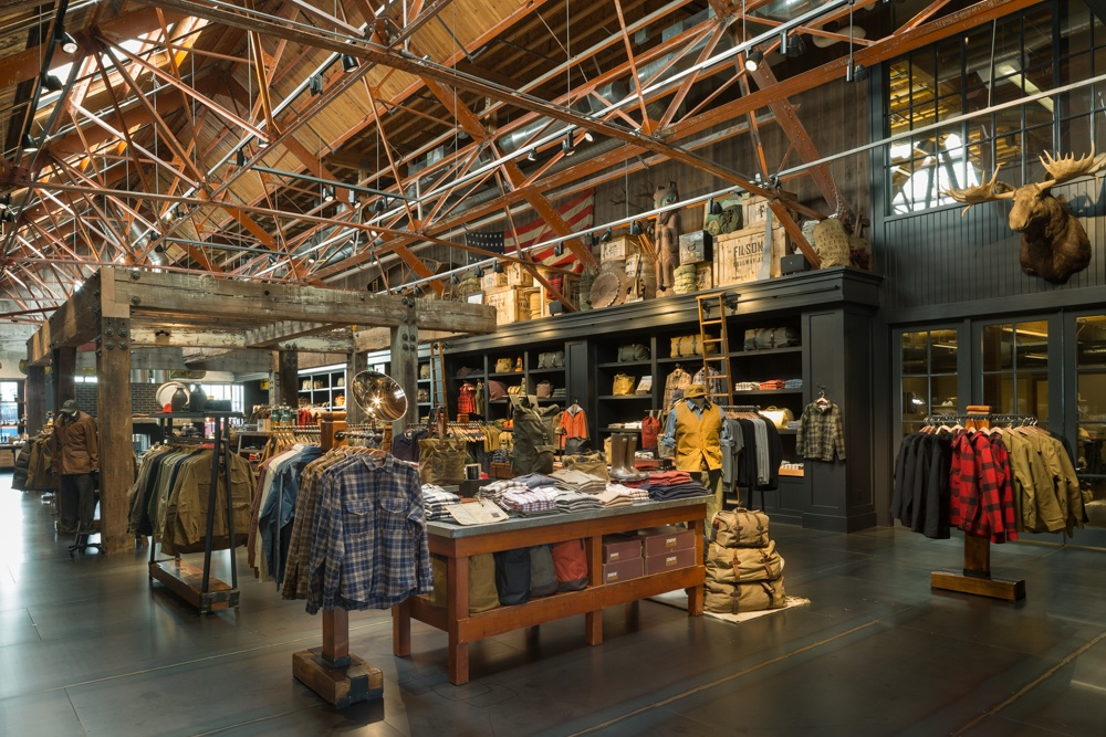 American heritage brand filson opening canadian retail for Paint store seattle