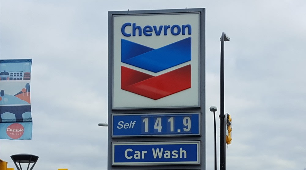 Vancouver gas prices surge past $1.41 /litre after weekend jump