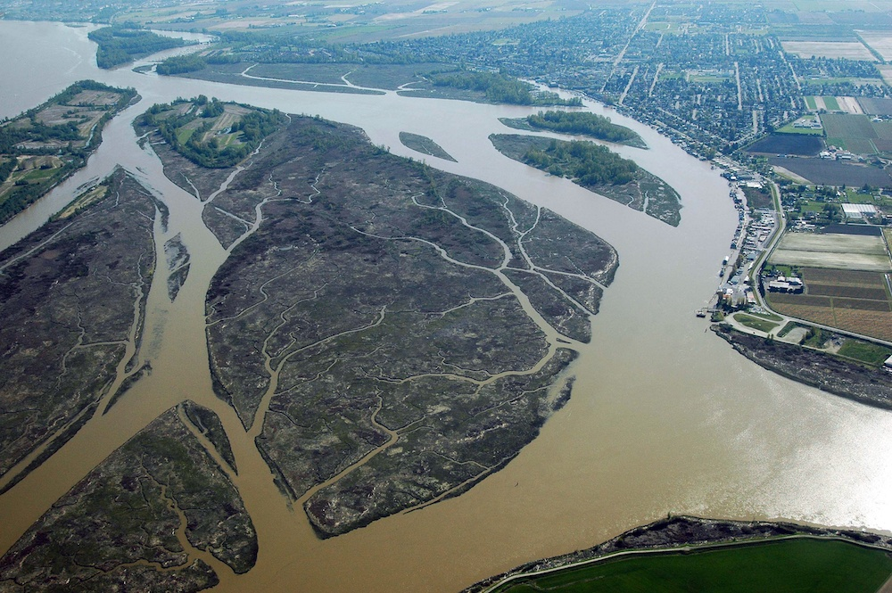 Islands in the Fraser River (Josef Hanus/Shutterstock)