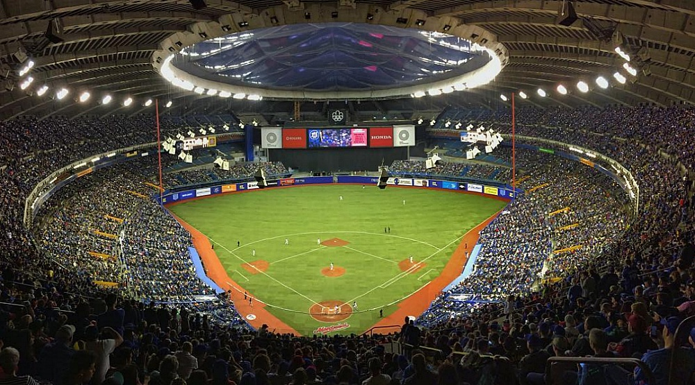 21 photos from the Toronto Blue Jays exhibition games in Montreal