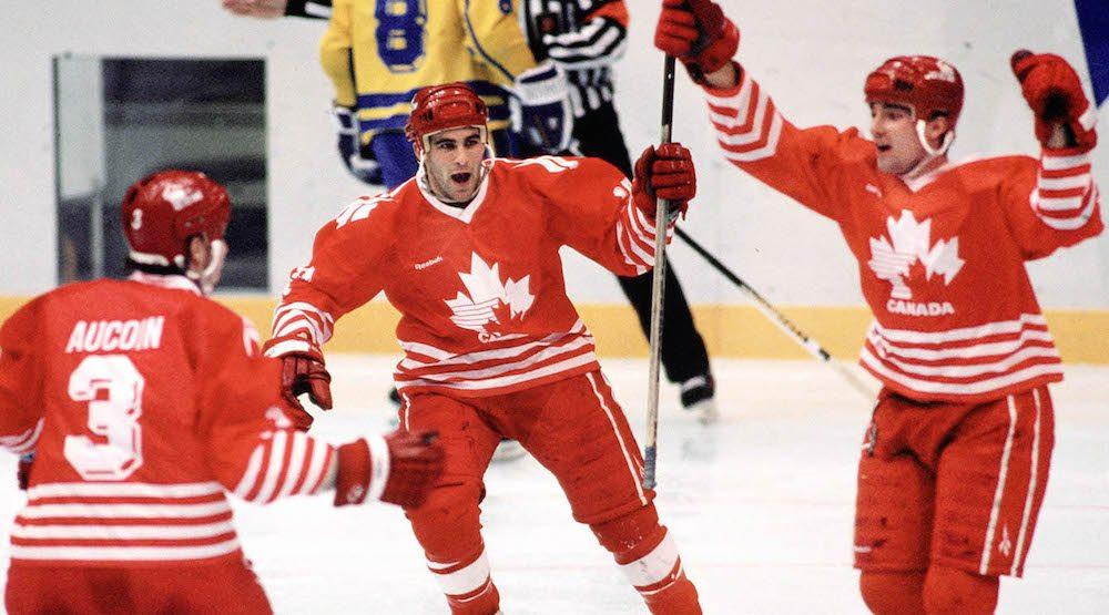 Canada hockey 1994 olympics