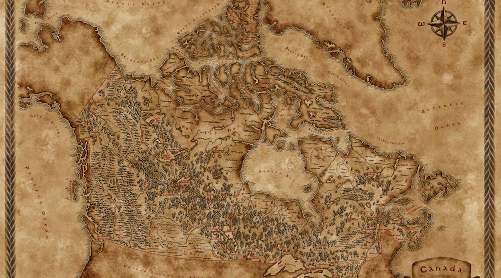 Canada fantasy map 2