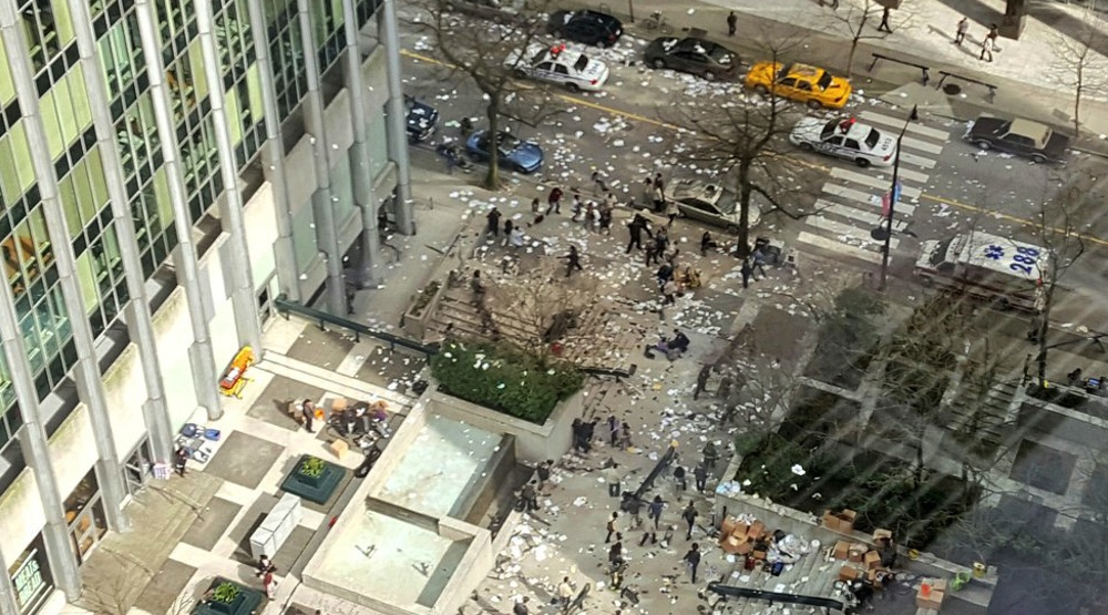 Huge explosion set in downtown Vancouver for TV show filming (PHOTO)