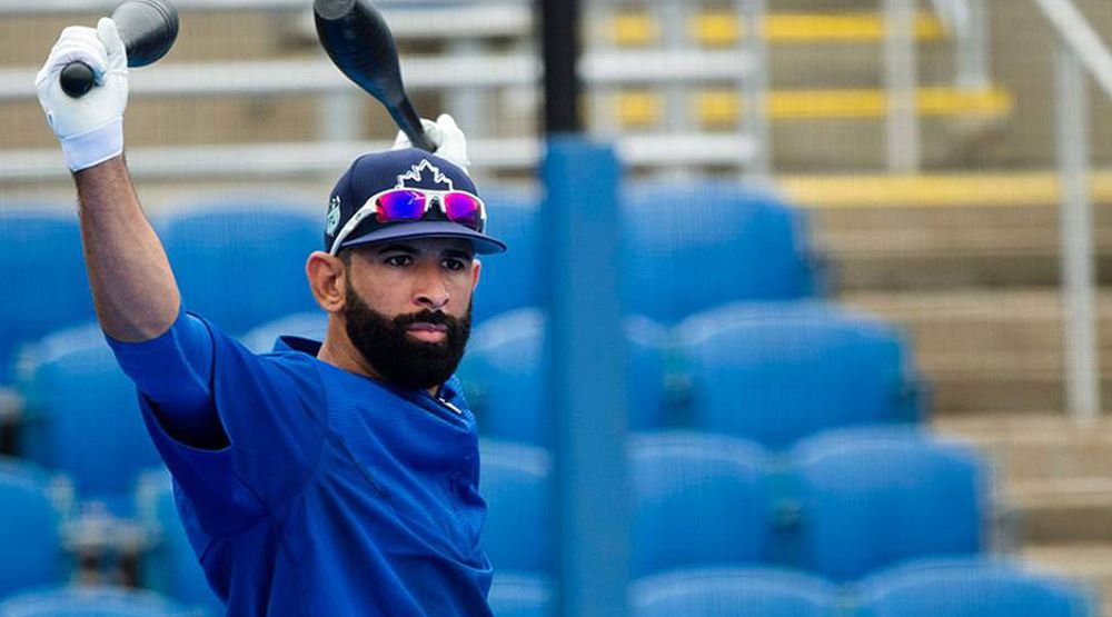 Jose Bautista looked like his old self on Opening Day for Blue Jays
