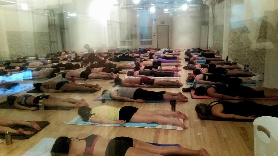 One Hour Hot Yoga Studio in Yaletown. (One Hour Hot Yoga/Facebook)