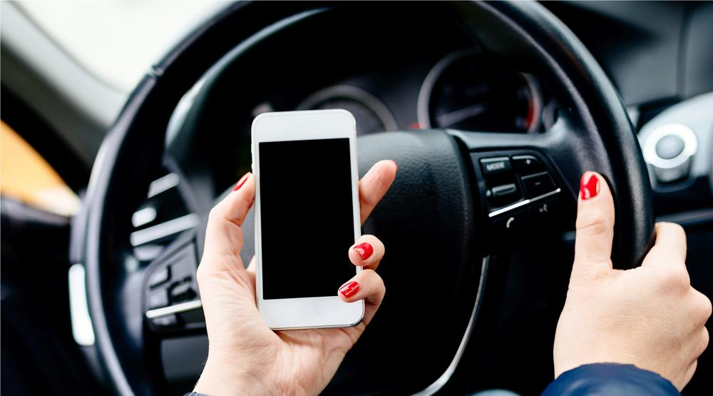 Police are ramping up distracted driving enforcement in BC this month