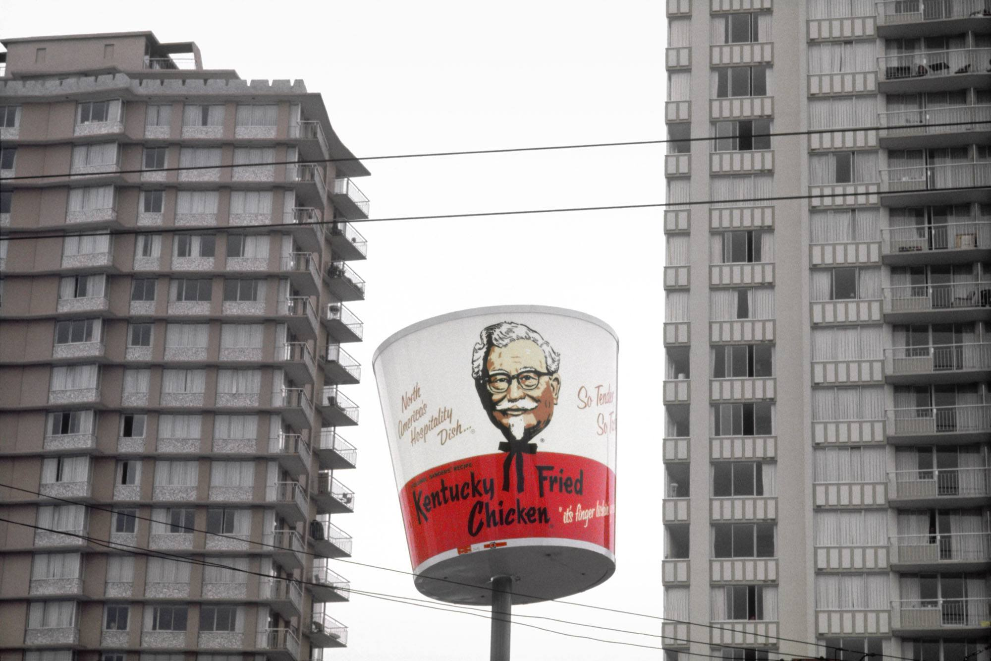 KFC by Fred Herzog, 1968 (Fred Herzog/Equinox Gallery)