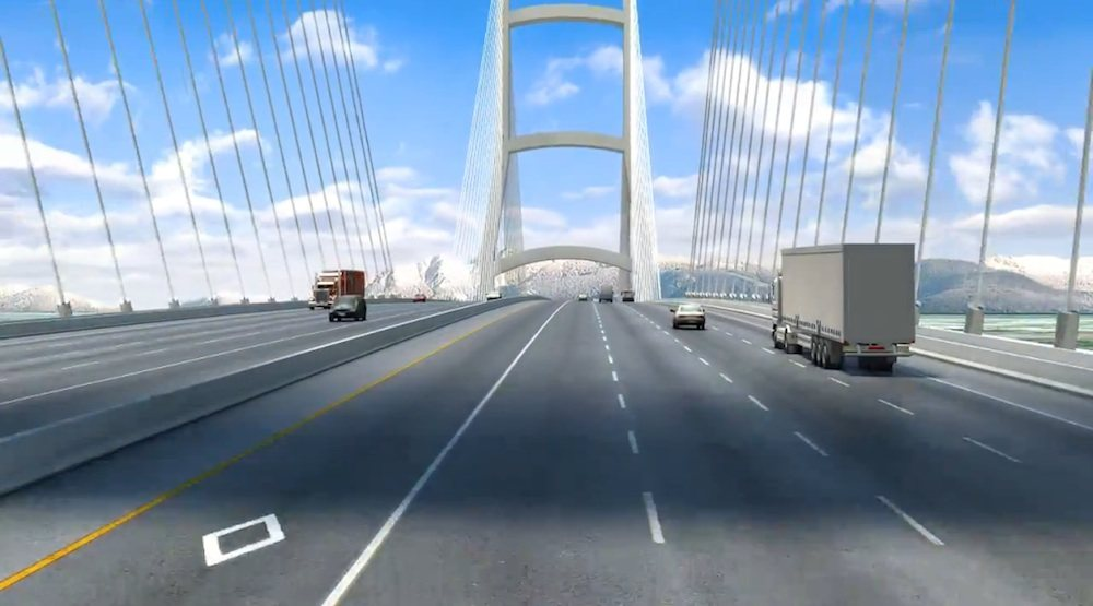 George massey bridge rendering 1
