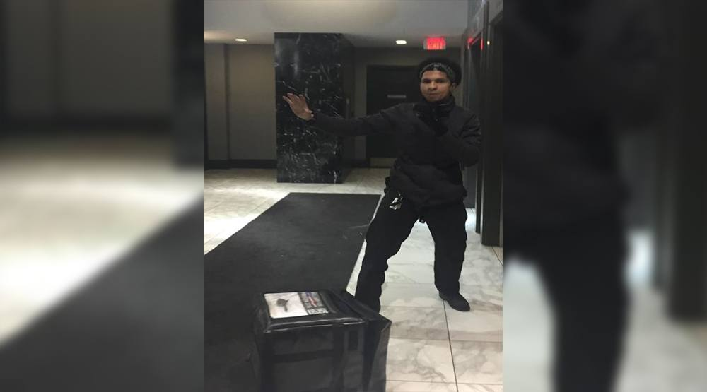 Toronto Police seek assistance identifying assault suspect, pictured in these kung fu pose photos