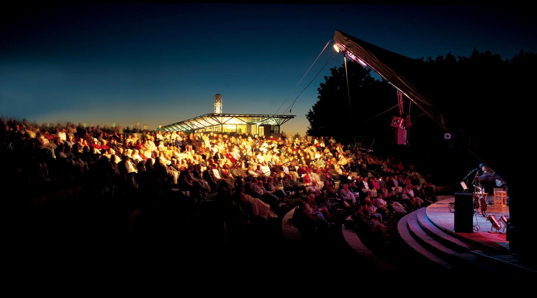 There's an amazing lineup for a concert series at a wine vineyard's Amphitheatre this summer
