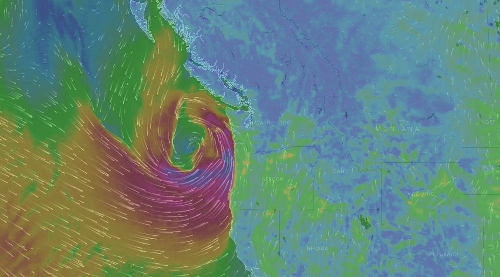 April 7 2017 vancouver wind storm
