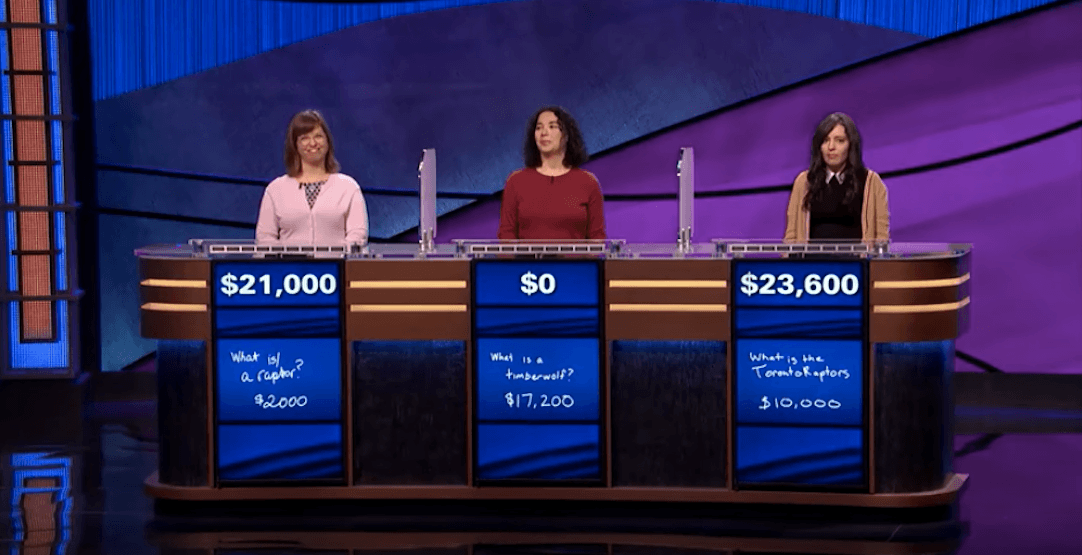 This Jeopardy contestant lost for failing to name the Toronto Raptors (VIDEO)