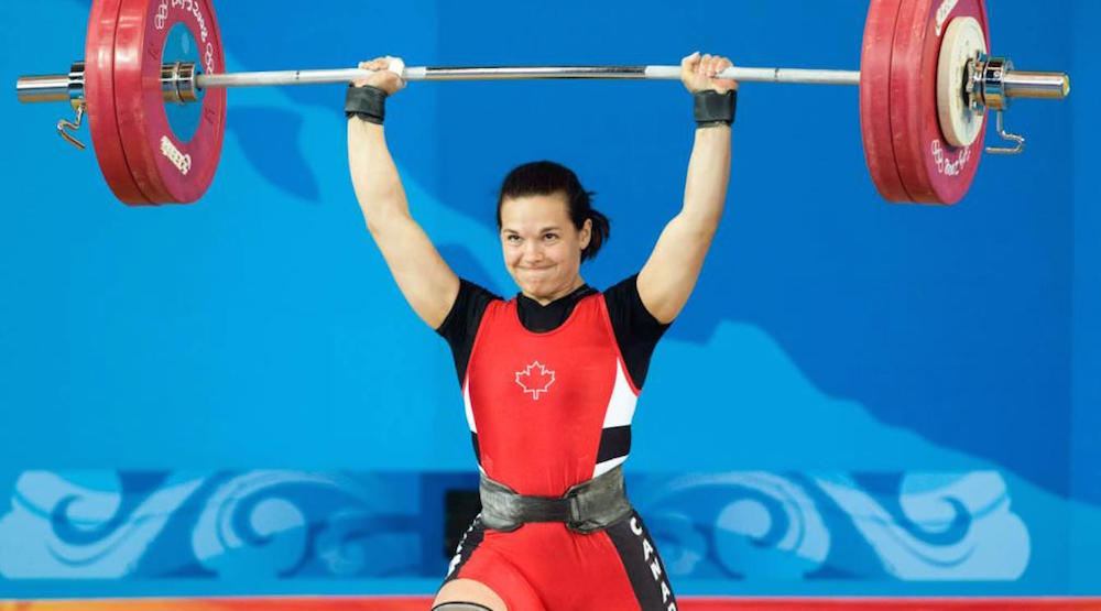 Drug cheats caught means Olympic gold for Canadian weightlifter