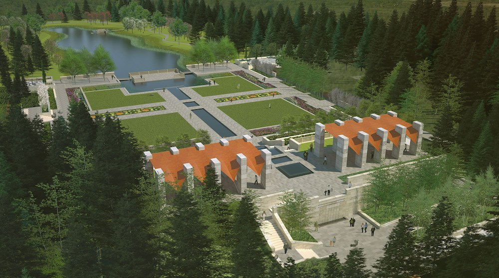 Aga Khan gifts $25-million garden to Alberta (PHOTOS)