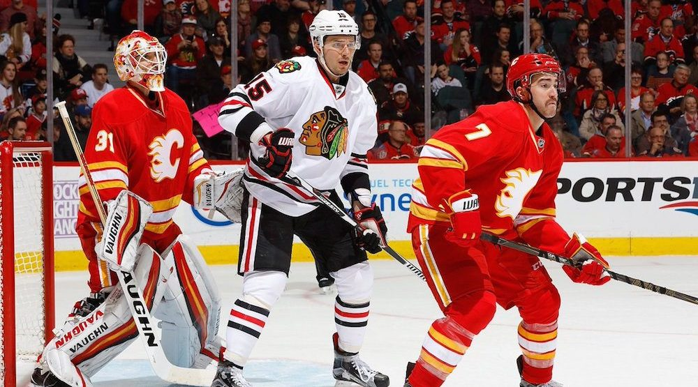 Blackhawks present easier road for playoff-bound Flames
