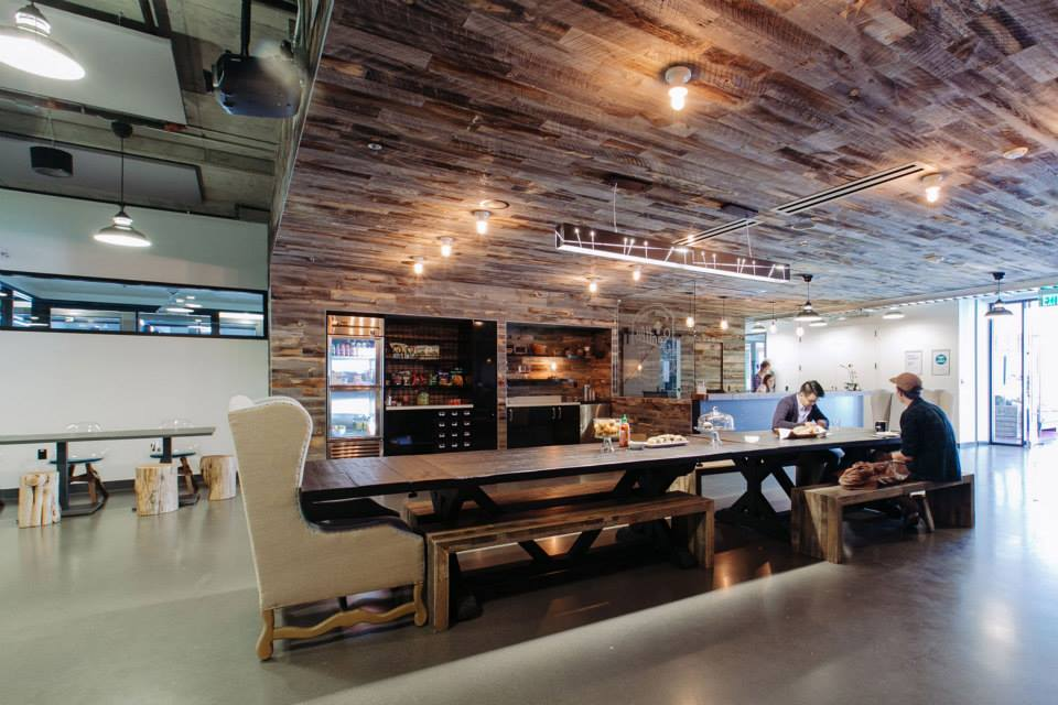 Wework opening 80 000 square foot co working office space for Shared office space montreal
