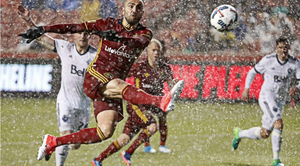 Whitecaps snowed under in loss to Real Salt Lake