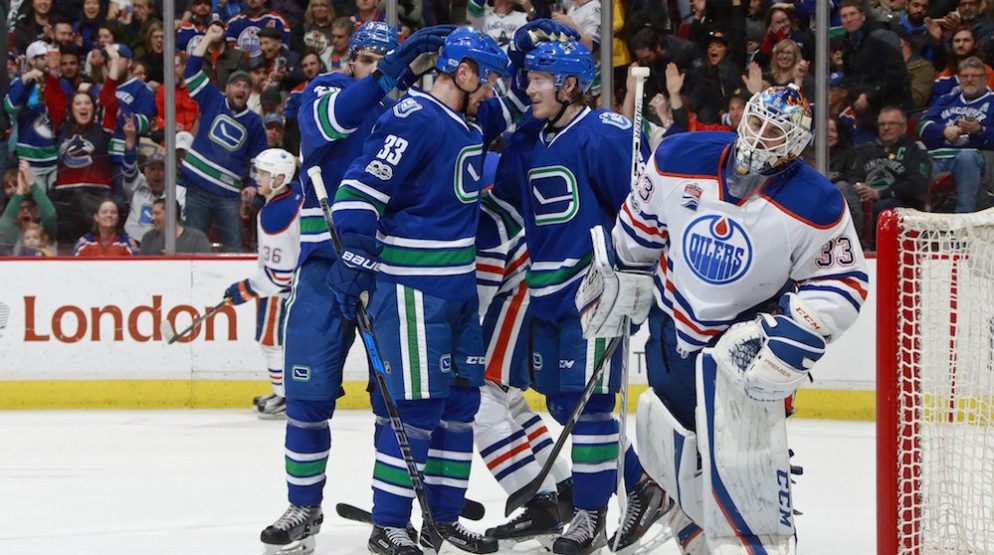 SixPack: Drive for 29th stays alive as Canucks lose to Oilers