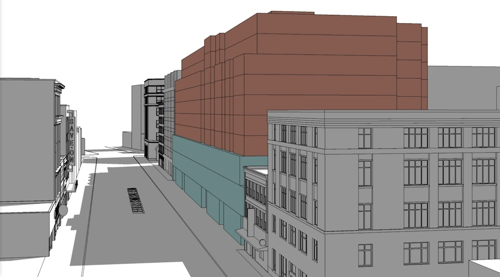 222-unit social housing building proposed for Downtown Eastside