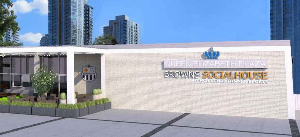 Browns Socialhouse plans move into Queen Elizabeth Plaza
