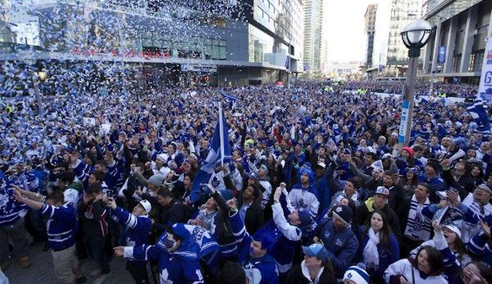 Toronto's Jurassic Park getting turned into an epic party for Leafs and Raptors fans during playoffs
