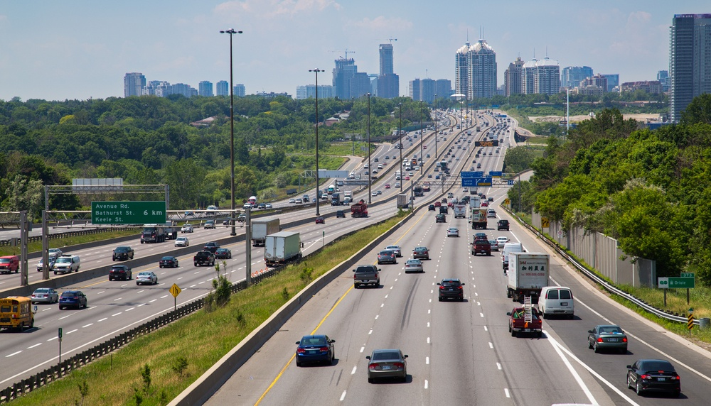 18 kms of Highway 401 to be expanded up to 12 lanes in order to ease congestion