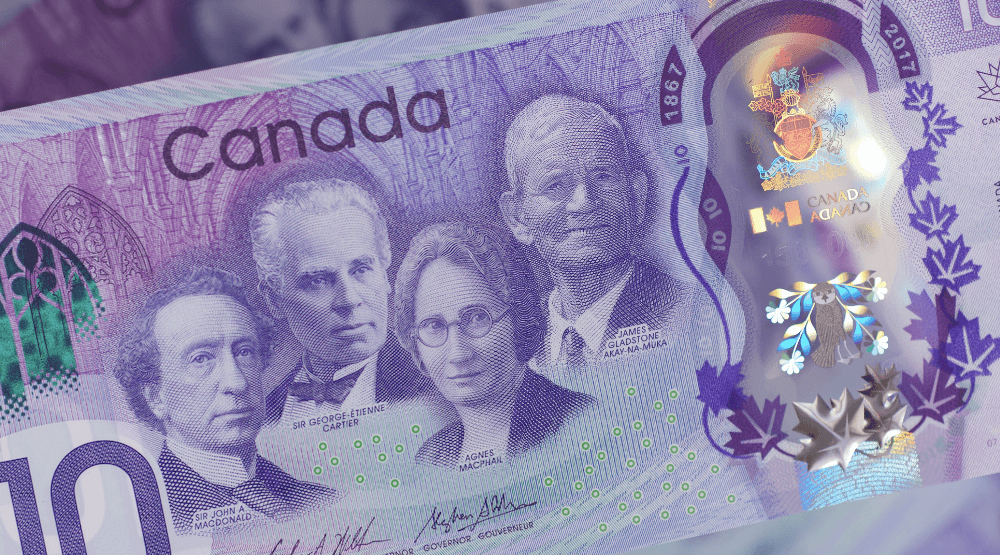Bank of Canada unveils new $10 bill for Canada's 150th birthday
