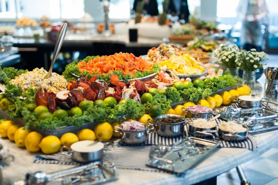 seafood buffet brunch colette