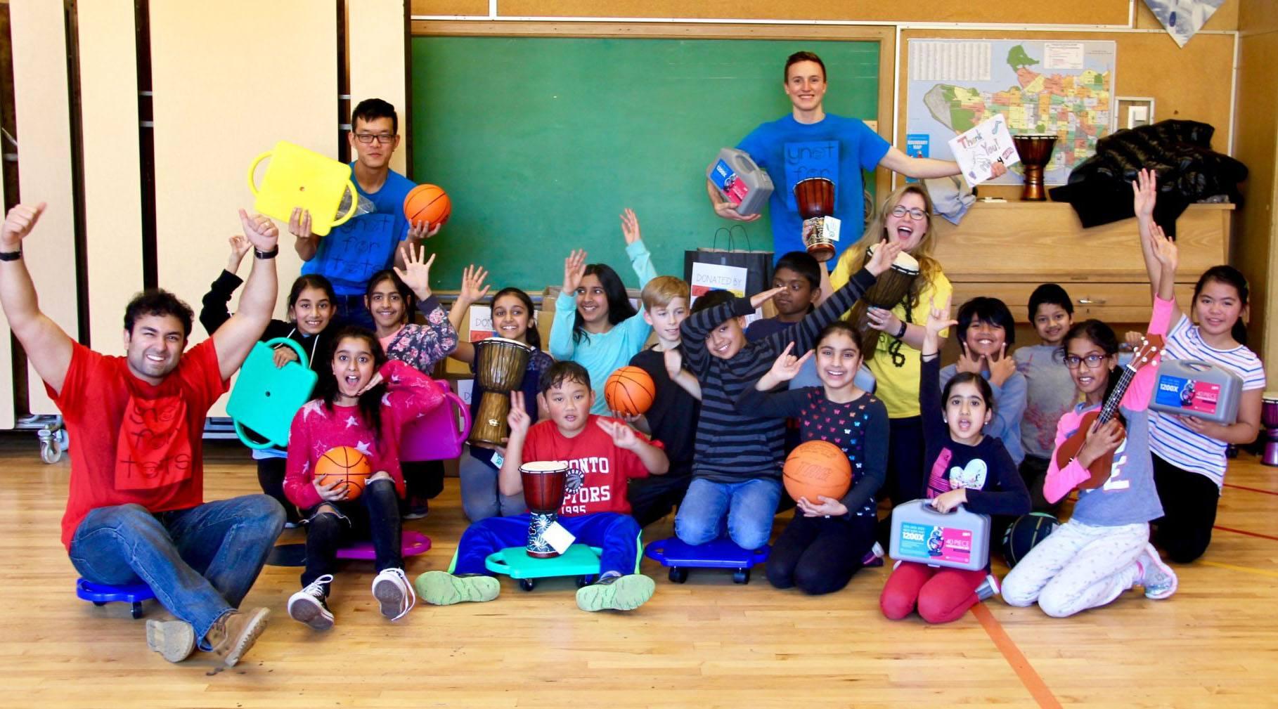 YNOTFORTOTS helps underprivileged kids in Metro Vancouver