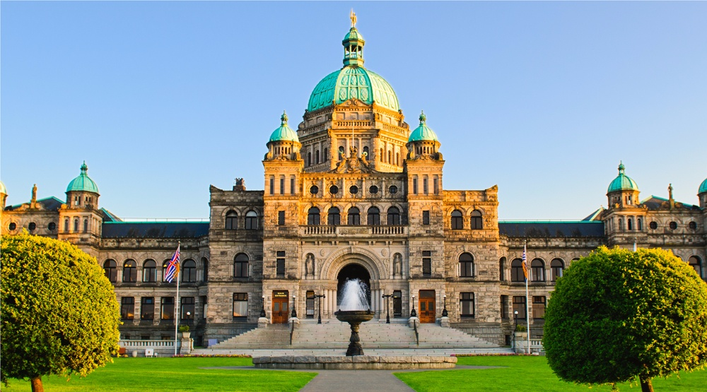 The BC Legislature in Victoria (BGSmith/Shutterstock)