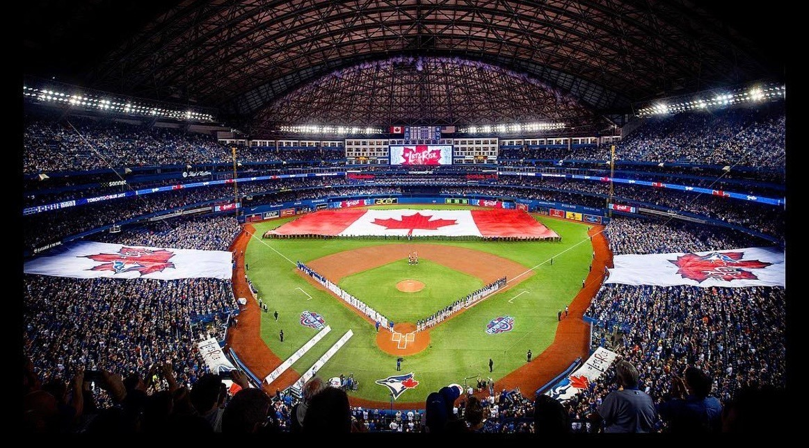 22 photos from the Blue Jays Home Opener