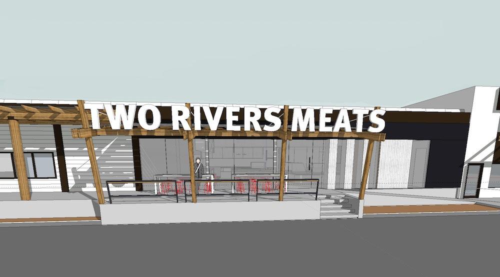 Two rivers meats mockup